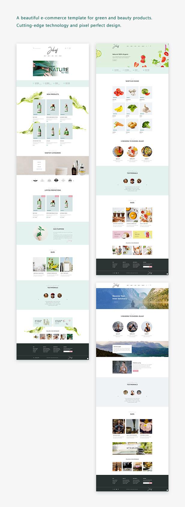Joleaf - E-commerce Template - 1